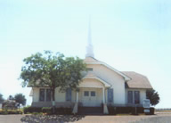 Photo of the old Murphy Baptist Churh.  Moved from south side of FM544 to the east side of Murphy Rd
