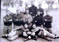Photo of an early Murphy Football Team