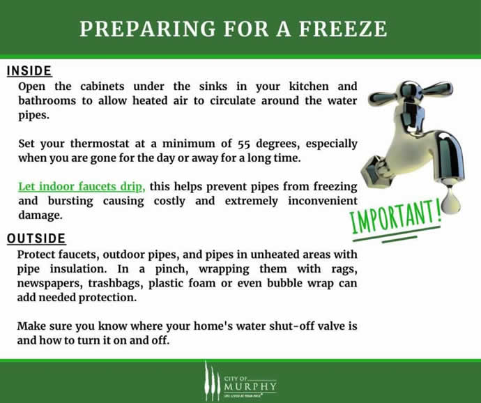 Freeze Warnings