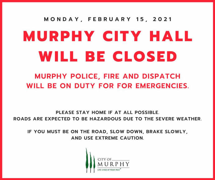 City Hall Office Closure